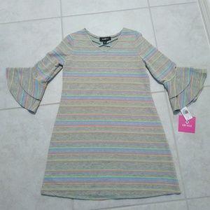 Girl's, AMY BYER, Fleece Dress, size Large